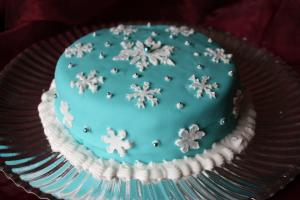 Snow Flake Cake