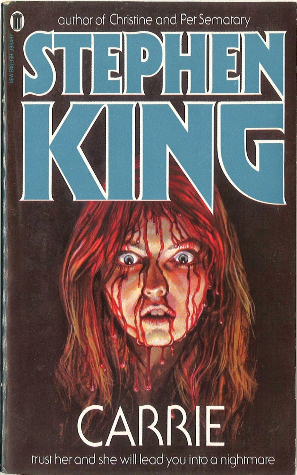 carrie nel paperback stephen king