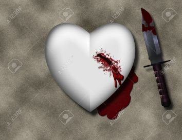 10498333-bleeding-heart-with-bloody-knife