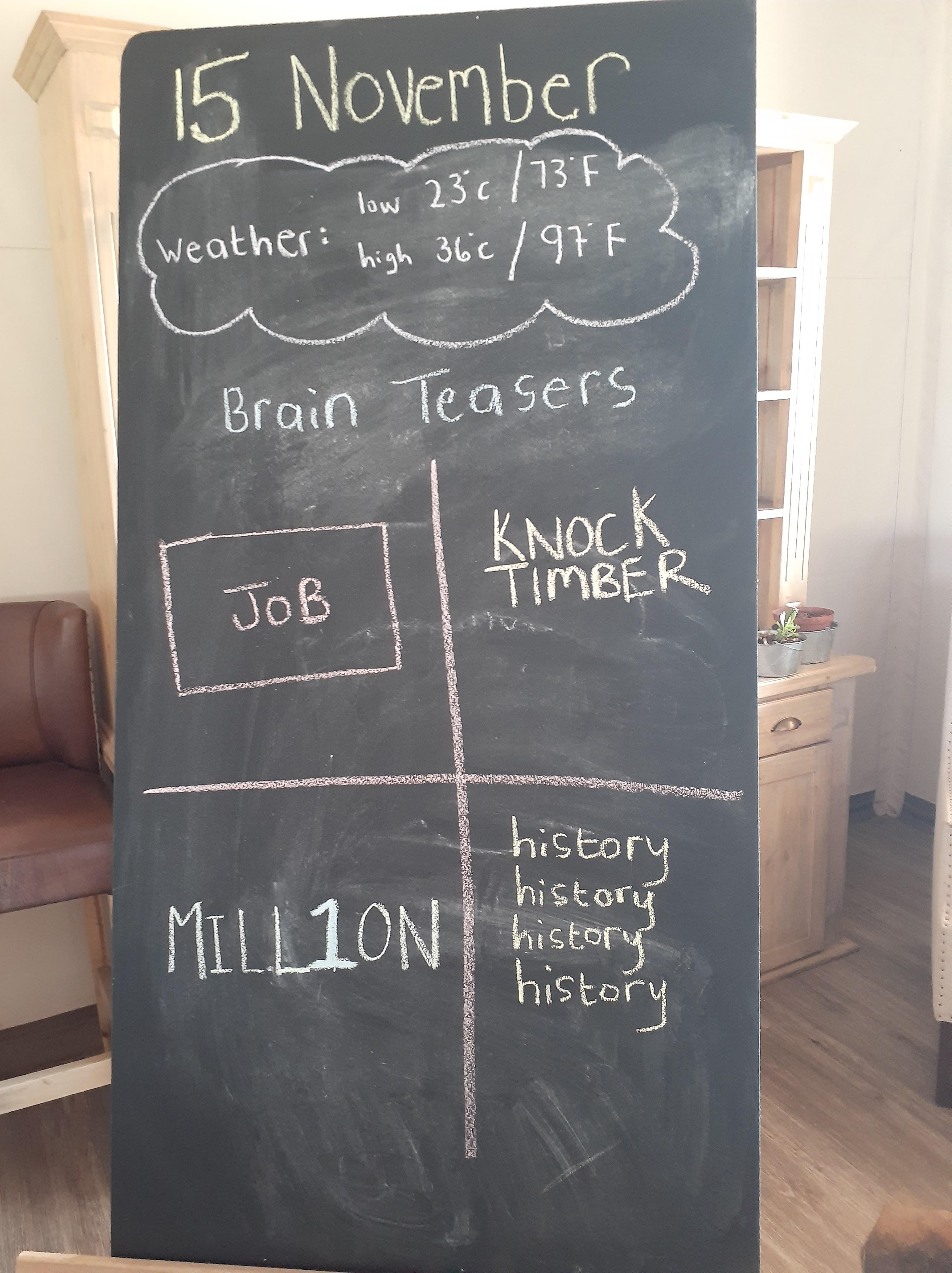 brainteaser 1