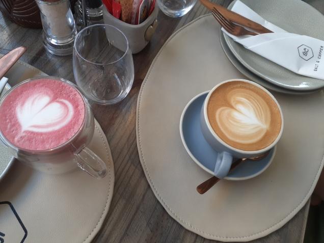 Beetroot Latte & Cappucino